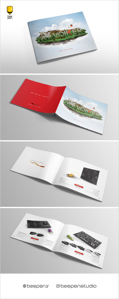 Catalog Design Volker Home Appliances Amir Farahani